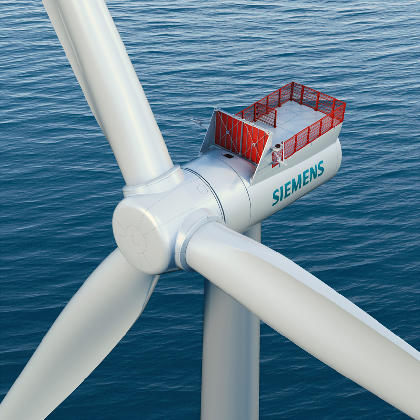 Nuova Turbina Eolica Siemens