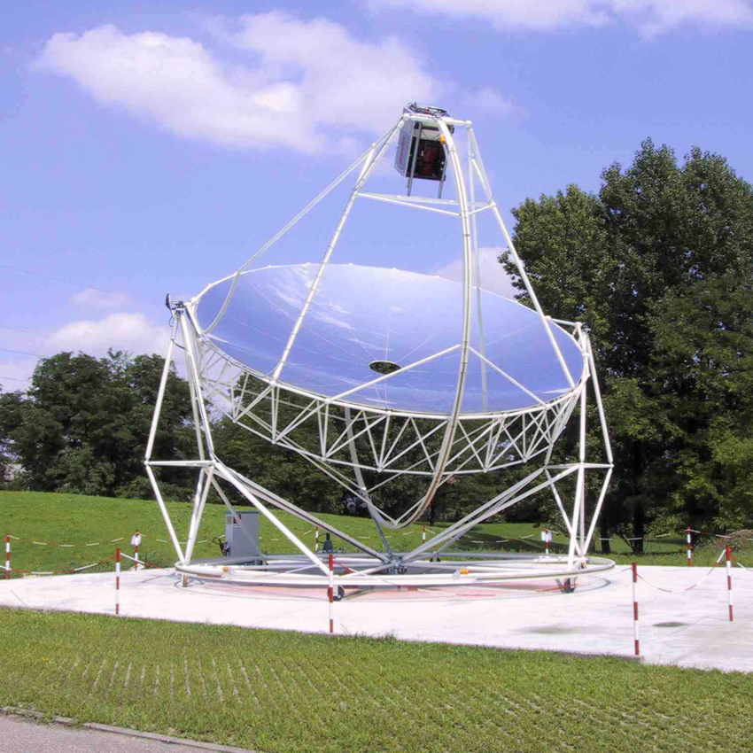 Campo solare costituito da Collettori di tipo Parabolico