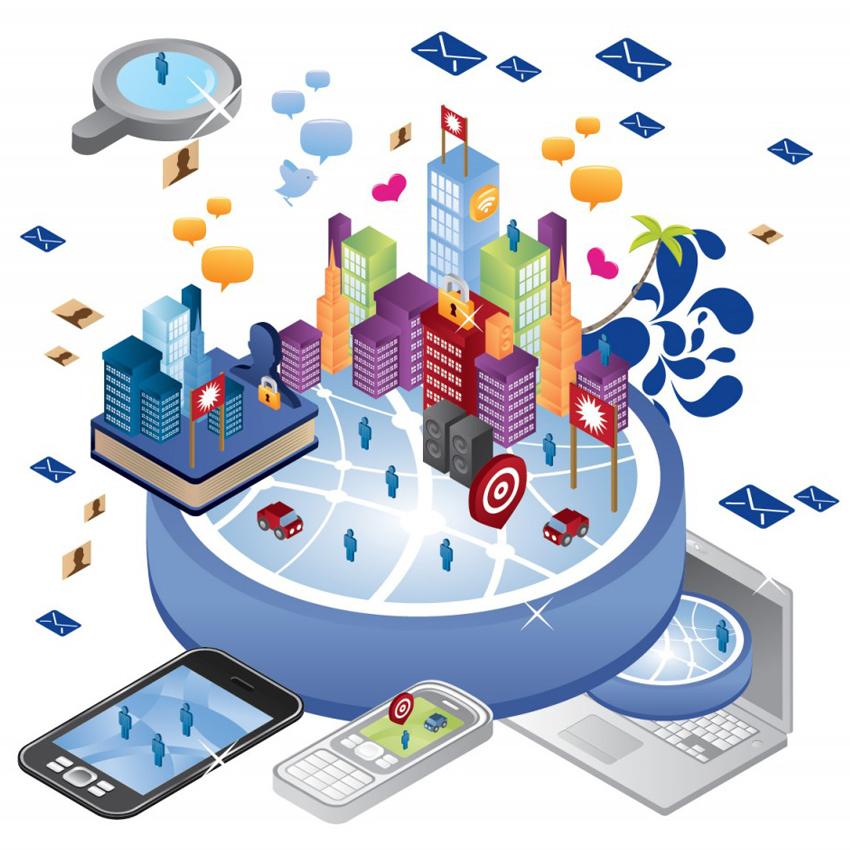 """""""Città delle reti intelligenti"""""""
