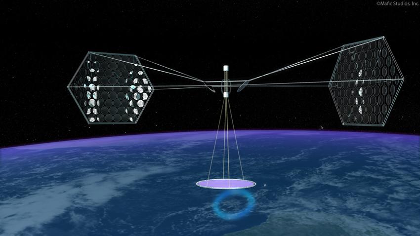 Satellite, Energia Solare arriva dallo Spazio
