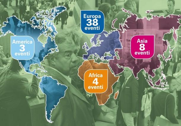 Ecomondo, Road Map Internazionale con 53 Tappe in quattro Continenti