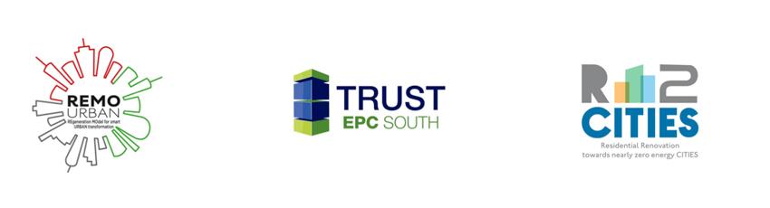 Trust EPC South, Remourban e R2 Cities, i tre progetti europei