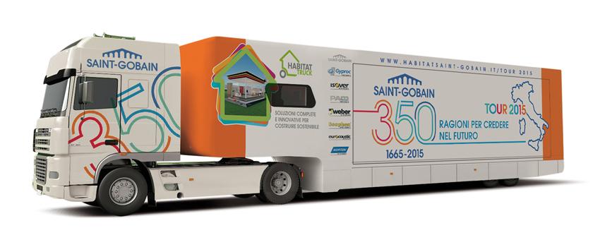 L'Habitat Truck di Saint-Gobain