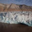 Kronebreen, ghiacciaio situato nelle isole Svalbard in Norvegia