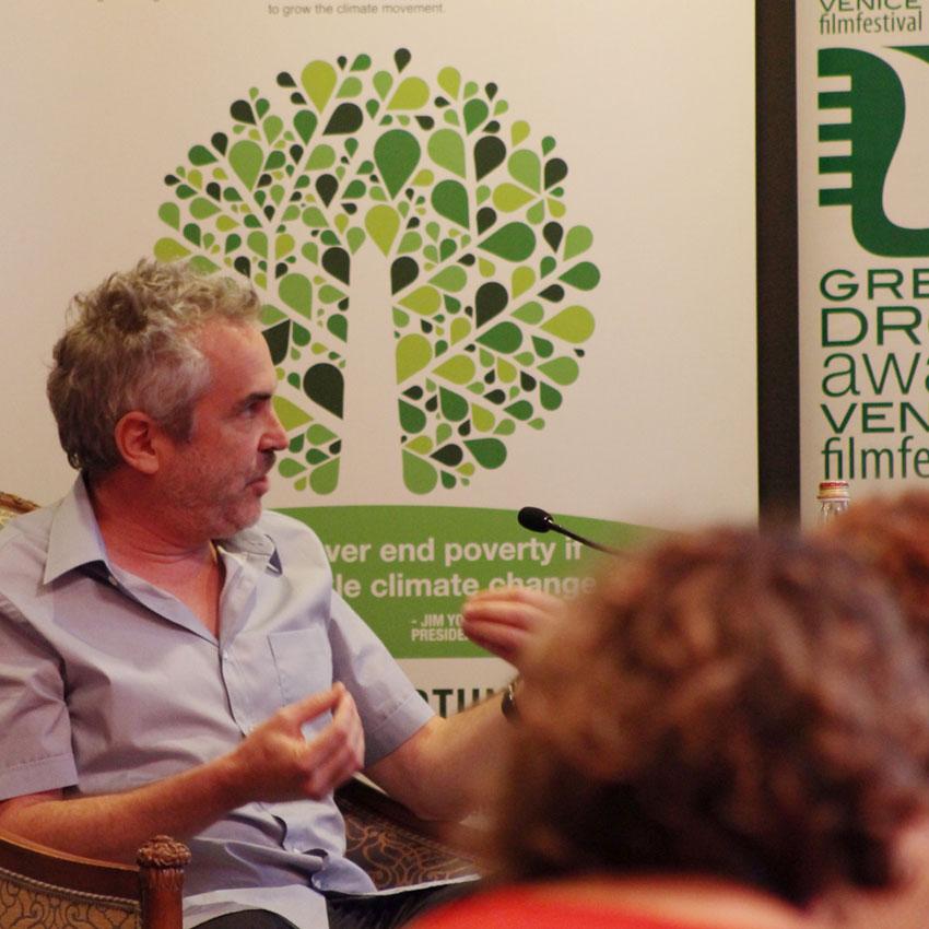 Alfonso Cuarón, presidente della giuria della 72a Mostra del Cinema