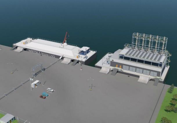 Wärtsilä abilita la generazione di energia tramite GNL
