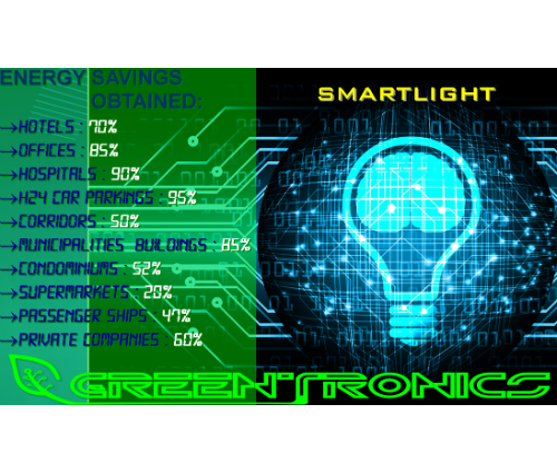 Tecnologia Smartlight: GREENTRONICS sul Podio dell''Efficienza Energetica