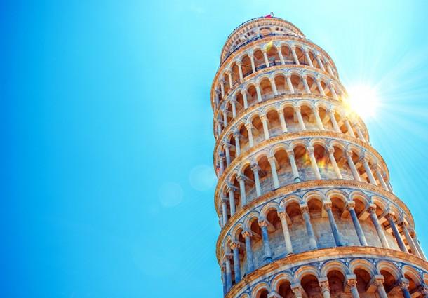 A spasso per le piazza di Pisa