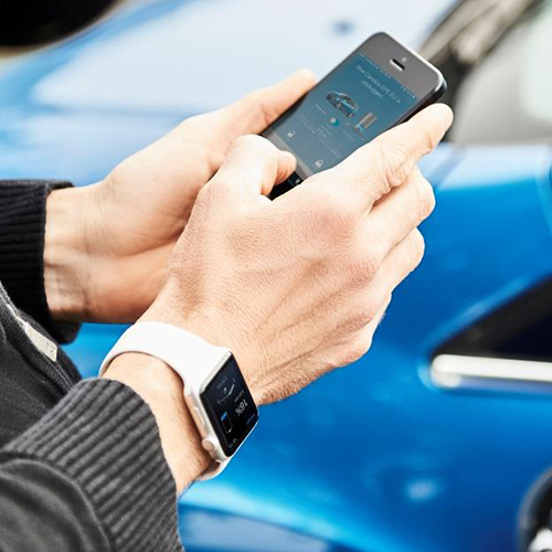 MyFord Mobile: il livello di batteria della tua Ford Elettrica a portata di smartwatch