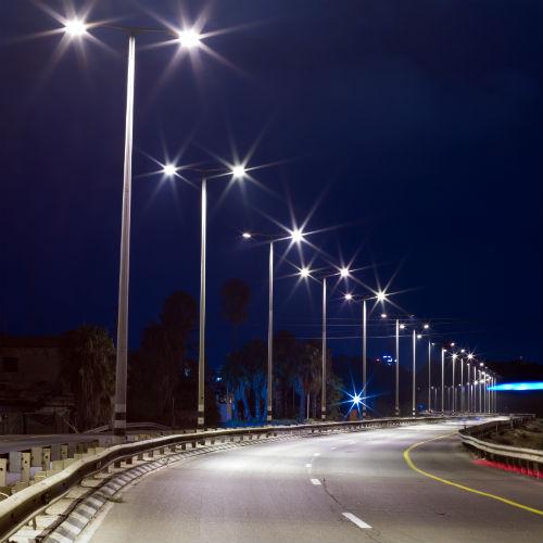 Notti più buie, luci stradali più luminose