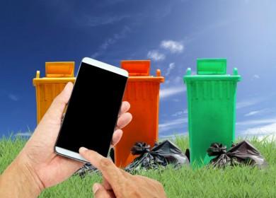 Ecolight: butta il vecchio cellulare nell'EcoIsola RAEE