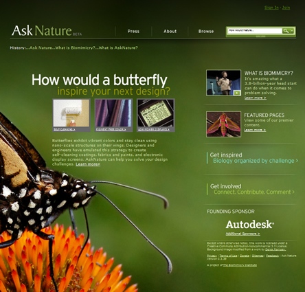 asnature.org, ask nature, janine benyus, janine benyus asknature.org, biomimesi, janine benyus biomimicry guild