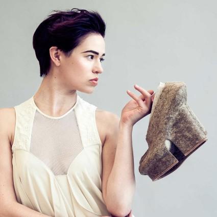 Natural Selection, linee di scarpe con diversi materiali naturali